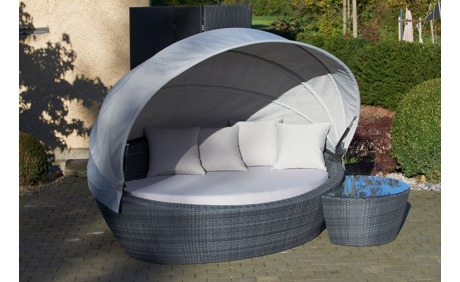 gartenlounge ascona mit klappbarem dach otto 39 s webshop ab. Black Bedroom Furniture Sets. Home Design Ideas