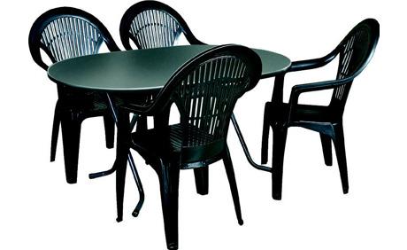 gartentisch kunststoff wei oval amazing tlg campingmbel gartenmbel campingmbel set xcm. Black Bedroom Furniture Sets. Home Design Ideas