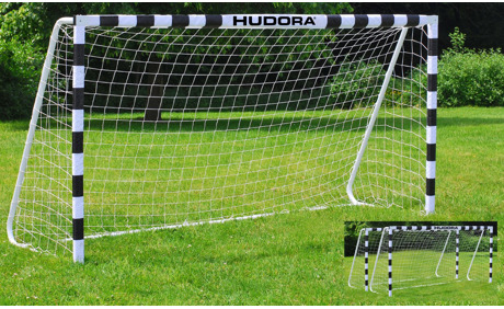 hudora fussballtor stadion v2 300 cm 2er set otto 39 s webshop ab. Black Bedroom Furniture Sets. Home Design Ideas