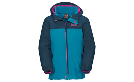 buy popular e9883 95b7a Jack Wolfskin ICELAND 3IN1 Mädchen-3-in-1-Jacke