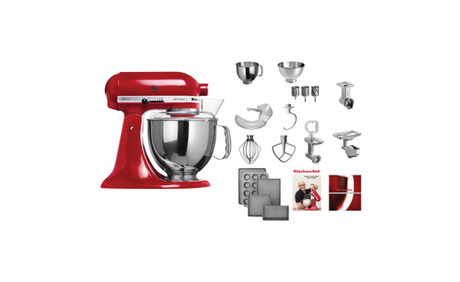 kitchenaid ksm 150 ren schudel set rot 10 rabatt fust ab. Black Bedroom Furniture Sets. Home Design Ideas