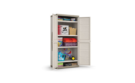 kunststoff schrank excellence xl high cabinet 89 x 54 x 181 otto 39 s webshop ab. Black Bedroom Furniture Sets. Home Design Ideas