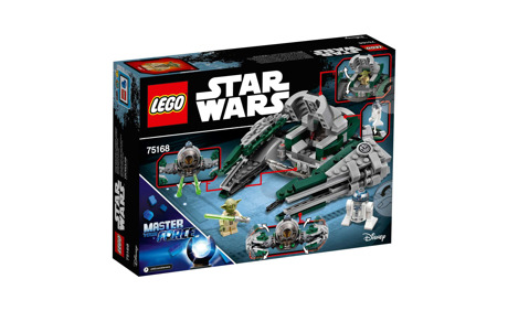 LEGO® Star Wars Yoda's Jedi Starfighter 75168