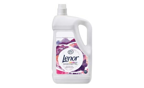 Lenor Waschmittel flüssig Strahlendes Blütenbouquet, 60 WG