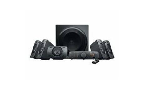 Logitech Z-906 - Lautsprechersystem - für Heimkino - 5.1-Kanal - 500 Watt (Gesamt)