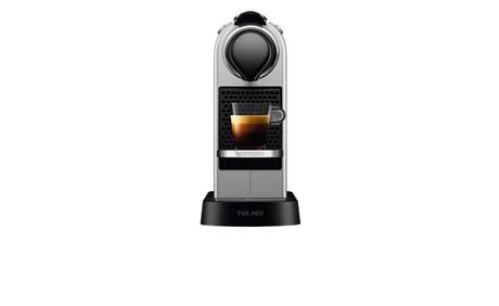 nespresso new citiz tx175 silver 10 rabatt melectronics ab. Black Bedroom Furniture Sets. Home Design Ideas