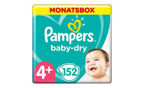 pampers baby dry gr 4 10 15 kg monatsbox 152 windeln otto 39 s onlineshop ab. Black Bedroom Furniture Sets. Home Design Ideas