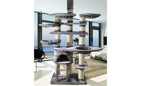 pet homes katzenbaum mont blanc grau otto 39 s webshop ab. Black Bedroom Furniture Sets. Home Design Ideas