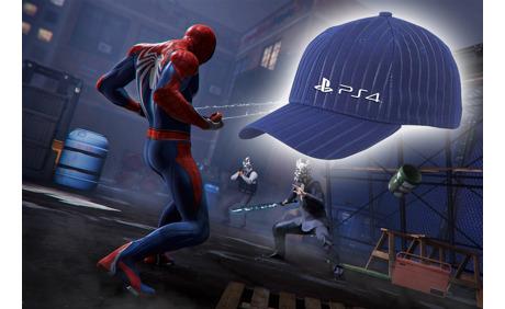 PS4 Baseball Cap geschenkt von Sony