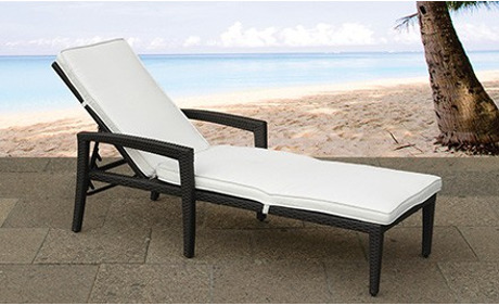 rattan gartenliege perugia inkl lieferung von beliani 50 rabatt ab. Black Bedroom Furniture Sets. Home Design Ideas