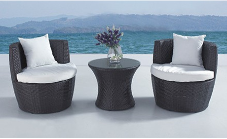 rattan gartenlounge capri inkl lieferung bis an die bordsteinkante von beliani 54 rabatt. Black Bedroom Furniture Sets. Home Design Ideas