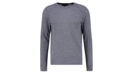 Strickpullover - med grey heather - meta.domain