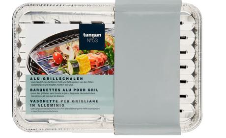 Tangan N°53 Alu-Grillschalen