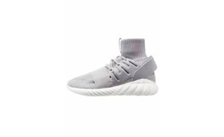 various colors 8458e 25fe8 TUBULAR DOOM PK - Sneaker high - solid grey/chalk white ...