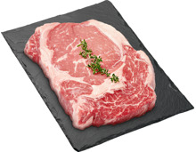 Black Angus Rib Eye Steak