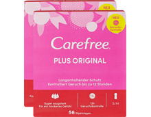 Carefree Slipeinlagen Plus Original