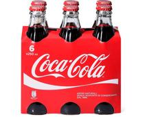 coca cola classic glasflaschen 6 x 250 ml migros ab. Black Bedroom Furniture Sets. Home Design Ideas