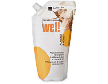 Coop Wel! Cream Hand Seife Almond & Honey, Nachfüllung, 500 ml