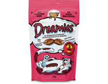 Dreamies Snacks Rind