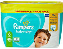 Pampers Baby-Dry Extra Large Windeln