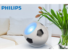 PHILIPS LED-Lampe im Fussball-Design