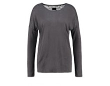 SECONDA - Langarmshirt - raven grey - meta.domain