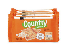 Z.B. Coop Country Cracker Sesam, 228 g 2.60 statt 3.30