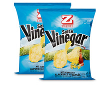 Zweifel Chips Salt & Vinegar, 2 x 175 g, Duo