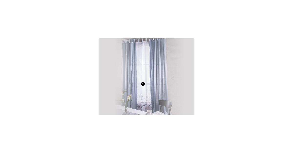 1 my living style transparente vorh nge aldi suisse ab. Black Bedroom Furniture Sets. Home Design Ideas