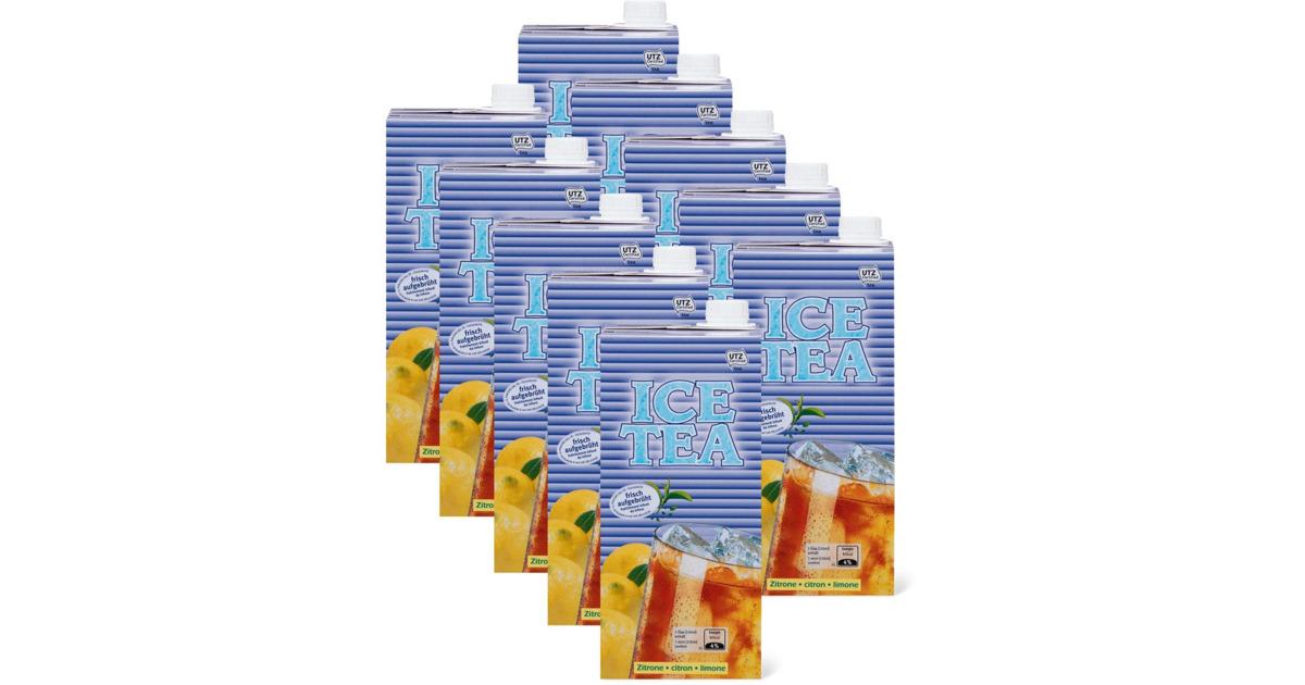 Alle kult ice tea brik im 10er pack 10 x 1 liter utz - Piastrelle 10 x 10 ...