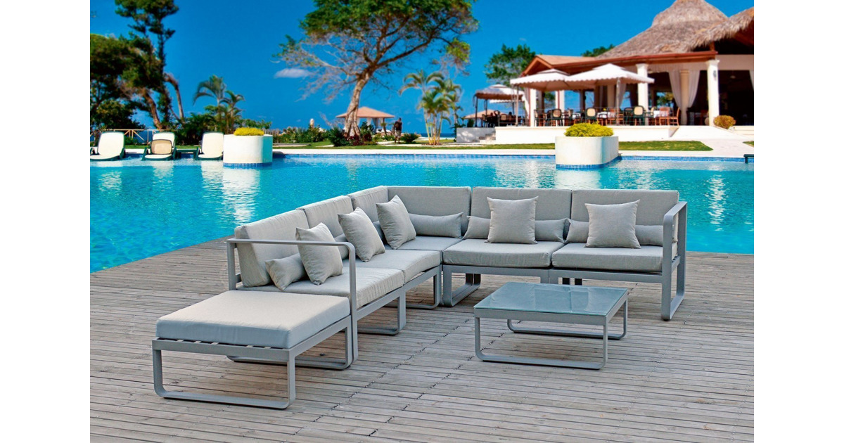 alu gartenlounge alexandra ii otto 39 s webshop ab. Black Bedroom Furniture Sets. Home Design Ideas