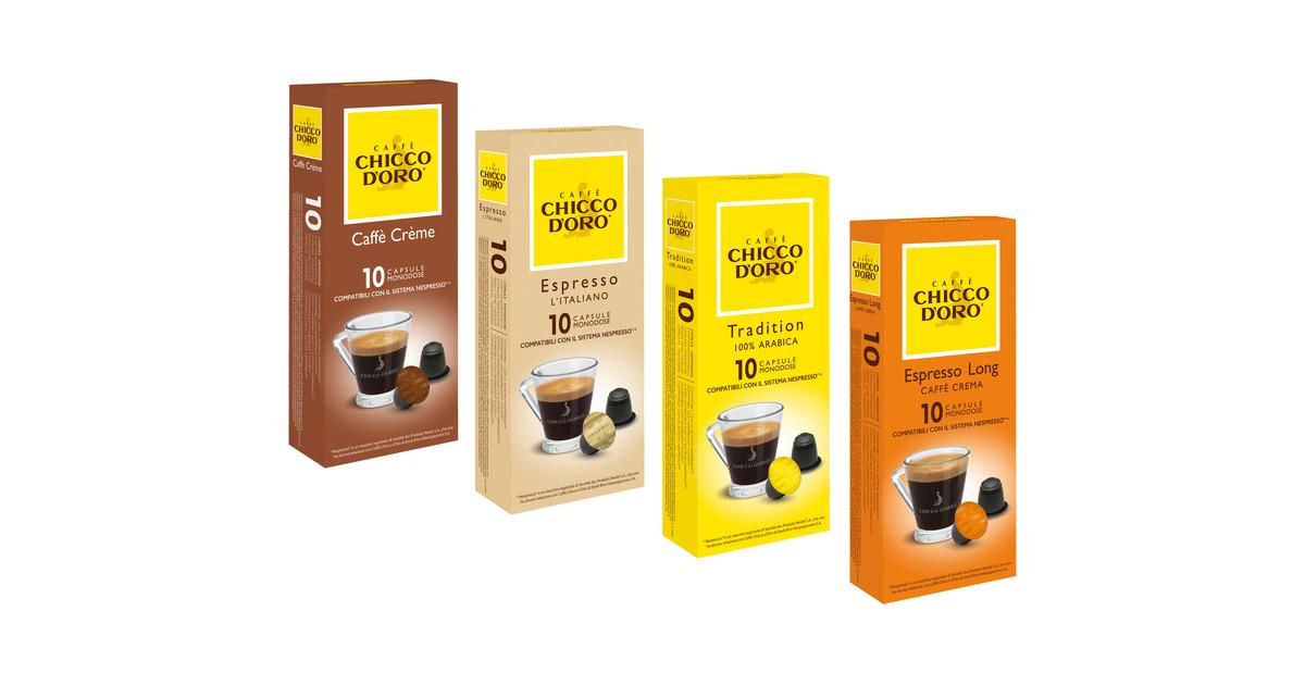 chicco d oro kaffeekapseln 30 rabatt lidl ab. Black Bedroom Furniture Sets. Home Design Ideas