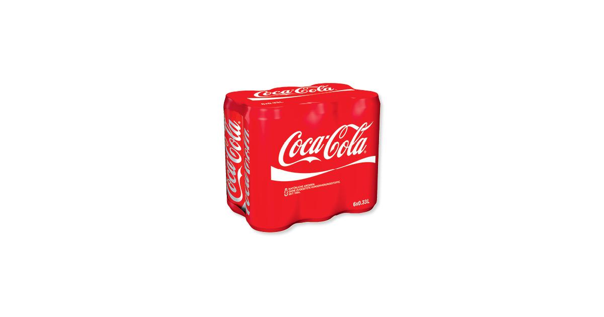 coca cola dosen 36 rabatt aldi suisse ab. Black Bedroom Furniture Sets. Home Design Ideas