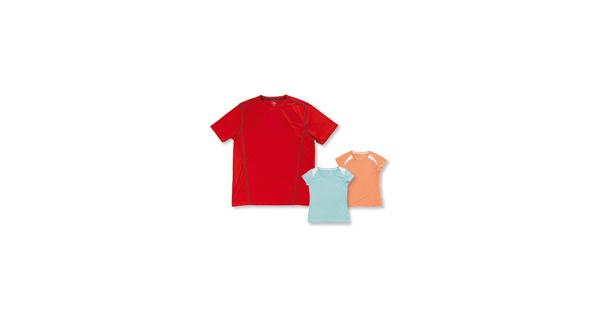 crane damen herren fitness shirt aldi suisse ab. Black Bedroom Furniture Sets. Home Design Ideas