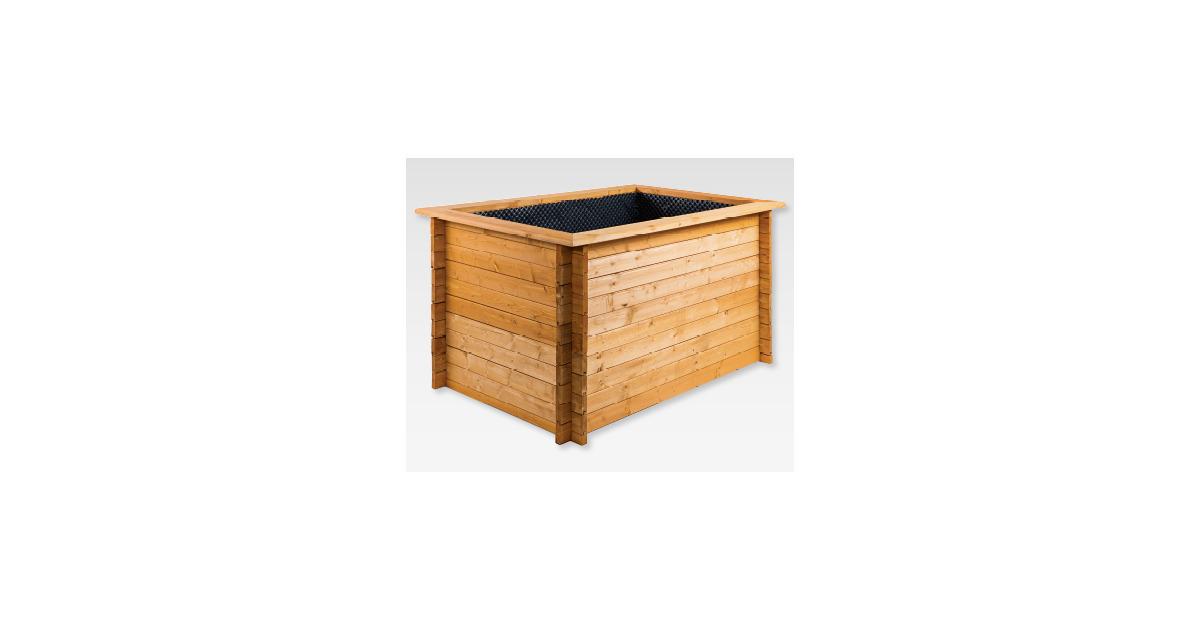 gardenline hochbeet aus holz aldi suisse ab. Black Bedroom Furniture Sets. Home Design Ideas