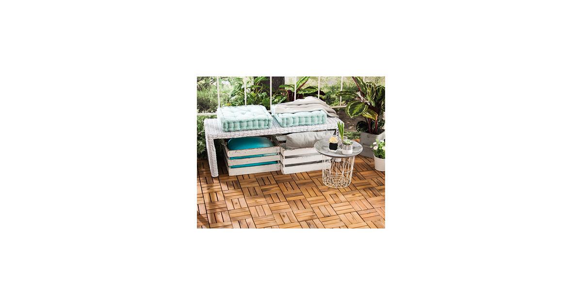 gardenline holzfliesen aldi suisse ab. Black Bedroom Furniture Sets. Home Design Ideas
