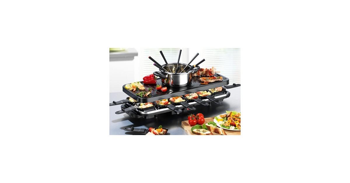 gourmetmaxx raclette fondue set 42 rabatt groupon ab. Black Bedroom Furniture Sets. Home Design Ideas