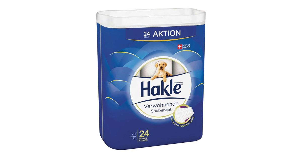 Hakle Toilettenpapier 4-Lagig