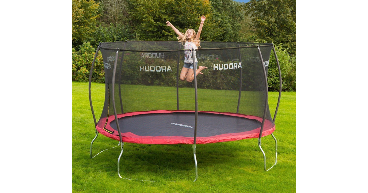 hudora trampolin fantastic m mit sicherheitsnetz otto 39 s webshop ab. Black Bedroom Furniture Sets. Home Design Ideas