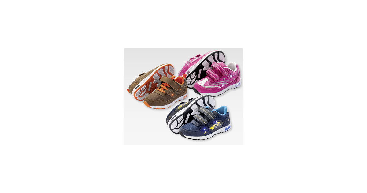 best authentic 25060 516c9 IMPIDIMPI Kleinkinder-Schuhe mit Blinkfunktion - ALDI SUISSE - ab  14.03.2016 - Aktionis.ch