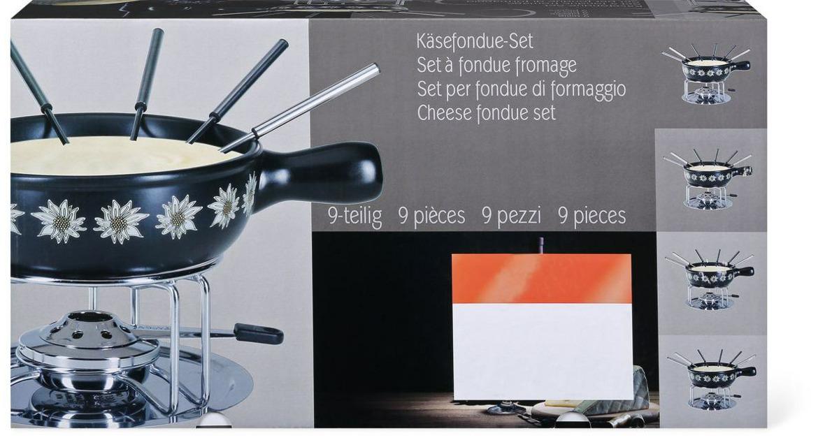 k sefondue set migros ab. Black Bedroom Furniture Sets. Home Design Ideas