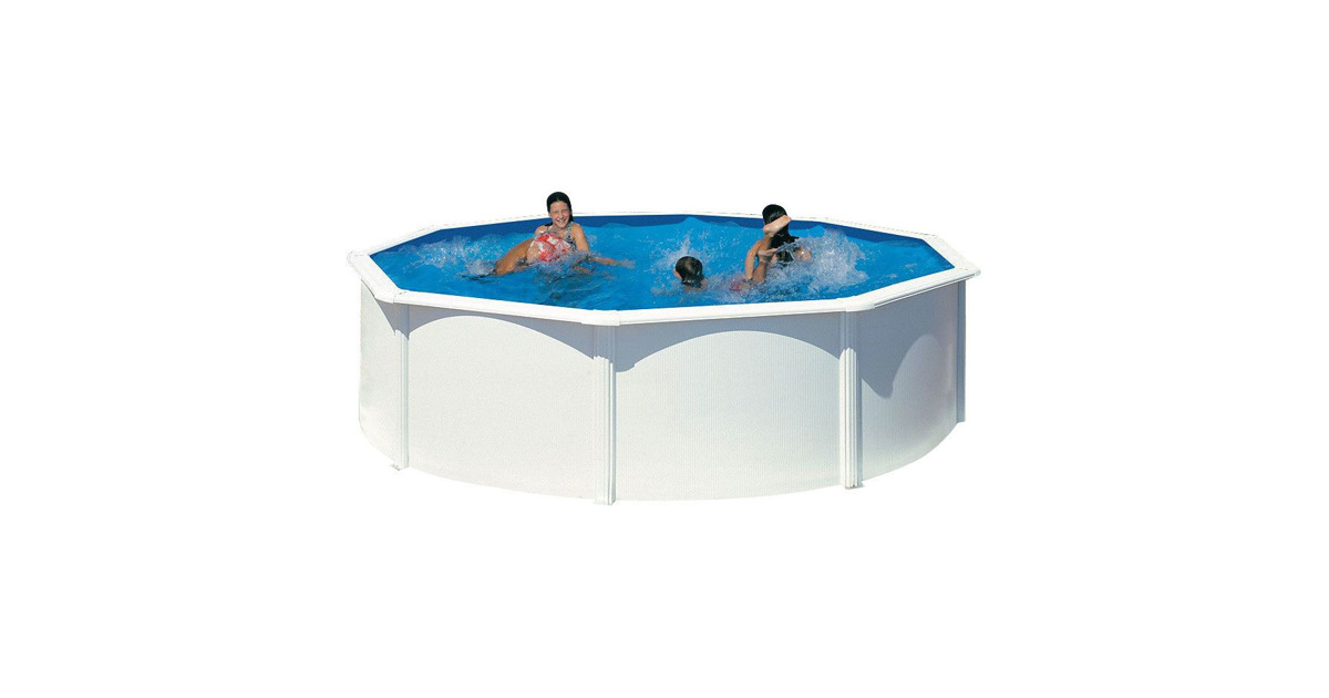 Kit dream pool top rundbecken h120 cm 460 cm inkl for Rundbecken pool