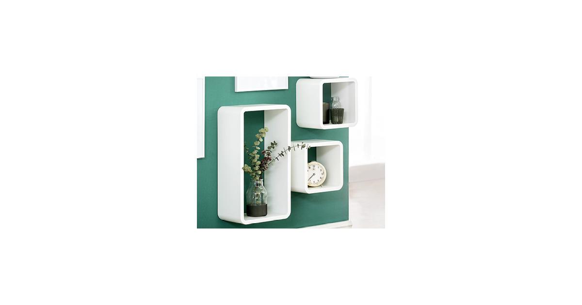 living style design regal set 3 teilig aldi suisse ab. Black Bedroom Furniture Sets. Home Design Ideas