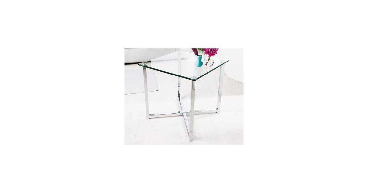 Living style glas beistelltisch aldi suisse ab for Beistelltisch aldi