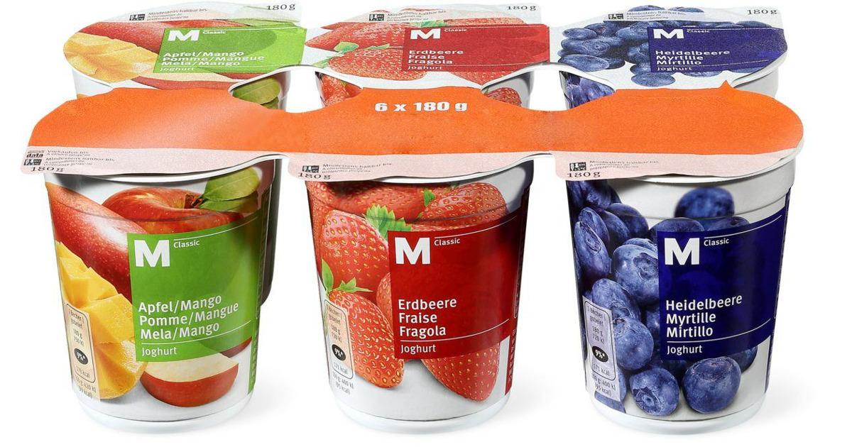 M Classic Joghurt im 8er Pack   8 Rabatt   Migros   ab 8.8 ...