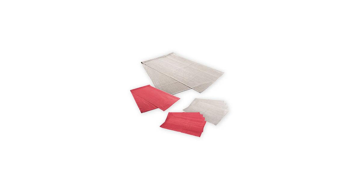 my living style platz sets tischl ufer mit glanzeffekt aldi suisse ab. Black Bedroom Furniture Sets. Home Design Ideas