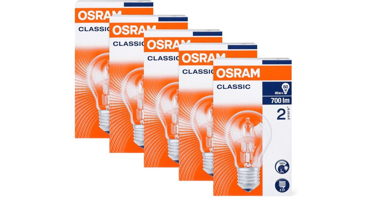 osram halogen lampen im 5er pack 33 rabatt migros ab. Black Bedroom Furniture Sets. Home Design Ideas