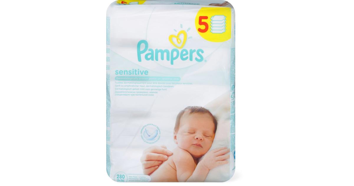 pampers baby feuchtt cher im 5er pack 33 rabatt. Black Bedroom Furniture Sets. Home Design Ideas