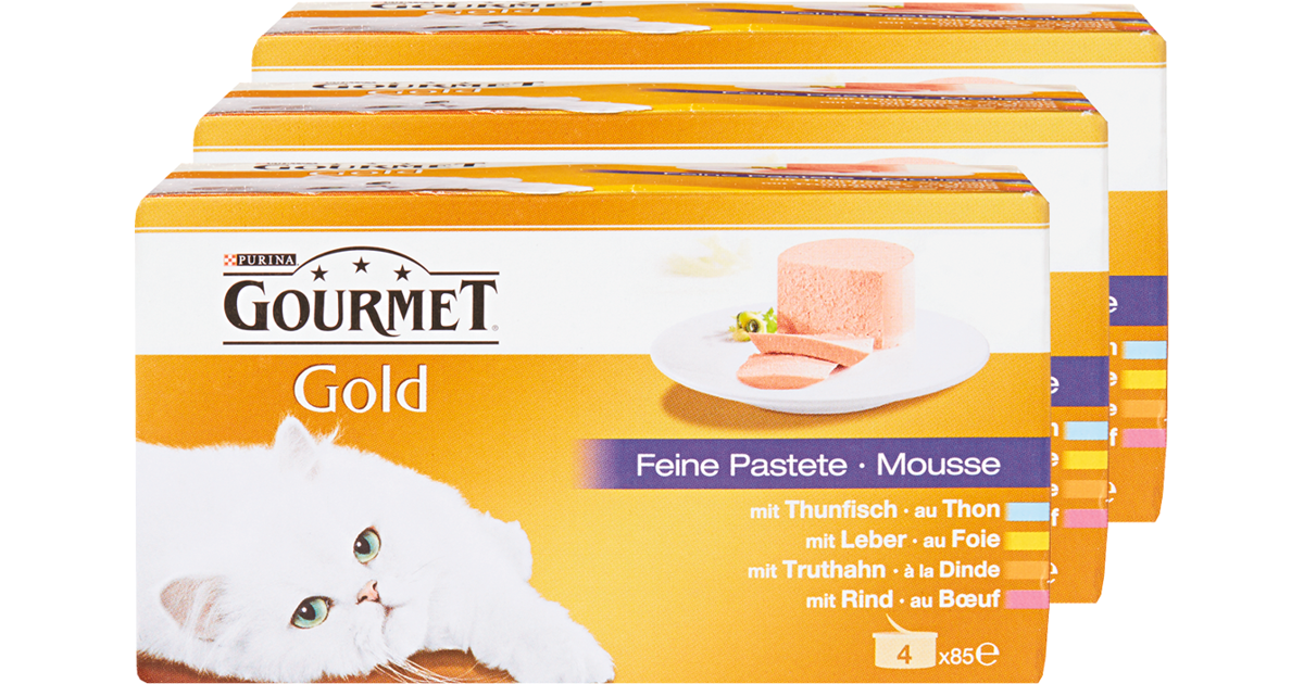 purina gourmet gold katzenfutter denner ab. Black Bedroom Furniture Sets. Home Design Ideas