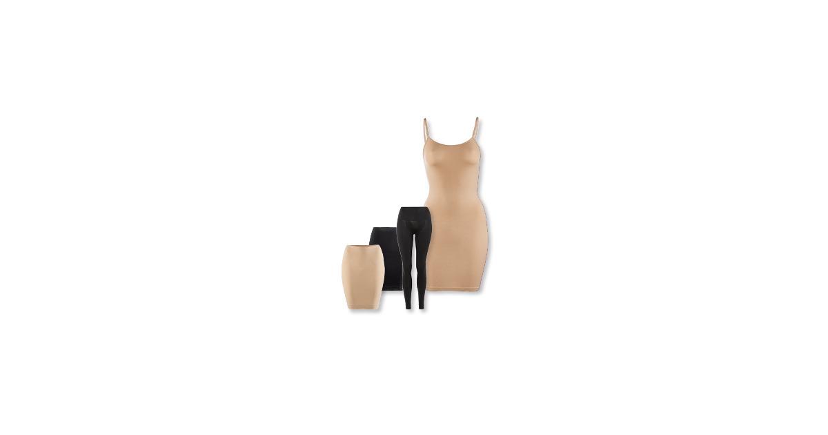 skin to skin damen unterrock leggings kleid aldi. Black Bedroom Furniture Sets. Home Design Ideas